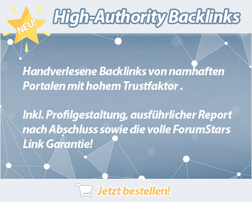 High Authority Backlinks Made in Germany